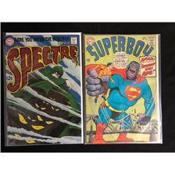 COMIC BOOK LOT (THE SPECTRE #10/ SUPERBOY #142)