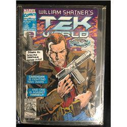 WILLIAM SHATNER'S TEK WORLD #1 (MARVEL COMICS) **SIGNED BY WILLIAM SHATNER**
