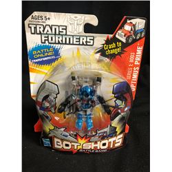 Hasbro Transformers Bot Shots Battle Game Series 1 B003 Optimus Prime Signed by Peter Cullen (Rare)