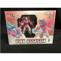 Iron Factory Transformers IF EX-16 Pink Assassin Arcee IDW Legends