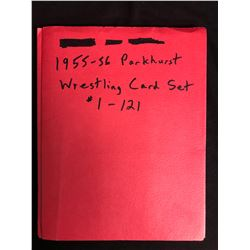 1955-56 Parkhurst Wrestling Card Set #1-121