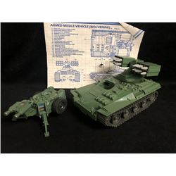 GI JOE WOLVERINE Armored Missile Vehicle w/ Instructions (1983)