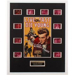 """Live Fast Die Young"" LE 8x10 Custom Matted Original Film / Movie Cell Display"