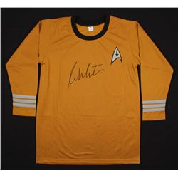 "William Shatner Signed ""Star Trek"" Captain Kirk Prop Replica Uniform Shirt (JSA COA)"