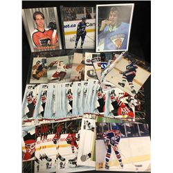 HOCKEY 8X10 PHOTO's LOT (SOME AUTOGRAPHED)
