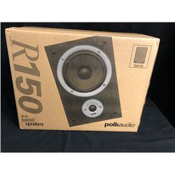 POLK AUDIO R150 BOOKSHELF SPEAKERS (ONE PAIR) NIB