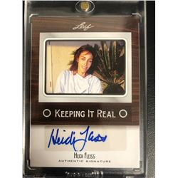HEIDI FLEISS LEAF SIGNED AUTHENTIC SIGNATURES TRADING CARD