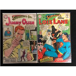 DC COMICS BOOK LOT (JIMMY OLSEN #83/ LOIS LANE #79)