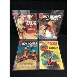 ROY ROGERS & TRIGGER COMIC BOOK LOT (DELL COMICS)