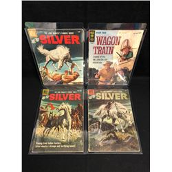 HI-YO SILVER COMIC BOOK LOT (DELL COMICS)