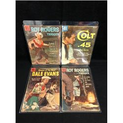 DELL COMICS BOOK LOT (COLT .45/ DALE EVANS...)