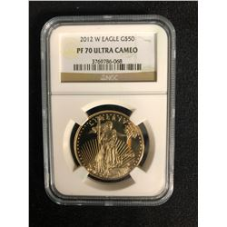 1 OZ PURE 999 GOLD US COIN (NGC GRADED)