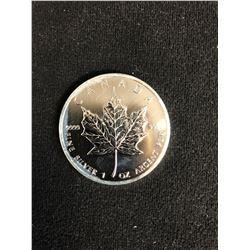 2012 CANADA 1oz .9999 Fine Silver Maple Leaf Coin $5