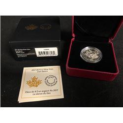 2017 $8 FINE SILVER COIN LION DANCE (ROYAL CANADIAN MINT)