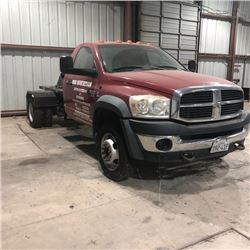 2008 - DODGE RAM HEAVY DUTY 5500 DIESEL
