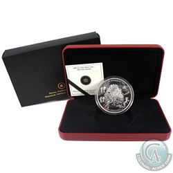2006 Canada $50 The Four Seasons 5oz Fine Silver Coin (Toned). (TAX Exempt)