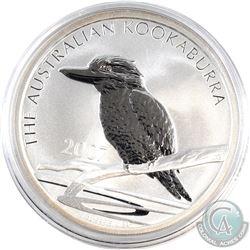 2007 Australia 1oz Kookaburra Fine Silver Coin in Capsule (Scratched capsule). (TAX Exempt)