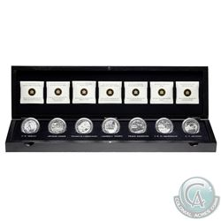 2012-2013 Canada Complete Group Of Seven 7-coin set in Deluxe Case (Sleeve is worn). (TAX Exempt)