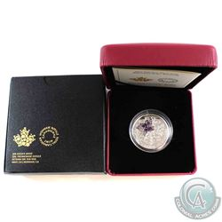 2017 Canada $20 Bejeweled Bugs - Butterfly Fine Silver Coin (Paper taped on outer sleeve). (TAX Exem