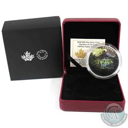2018 Canada $30 Halifax Public Gardens 2oz Fine Silver Coin. (TAX Exempt)