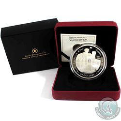 2008 Canada $50 Royal Canadian Mint Centennial 5oz Fine Silver Coin (Capsule lightly scratched). (TA