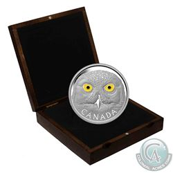 2014 Canada $250 In The Eyes Of The Snowy Owl Fine Silver Kilo Coin in Deluxe Display Case. (TAX Exe