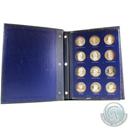 1970 Franklin Mint- Sterling Silver United States Presidential Medal Collection in Album. You will r