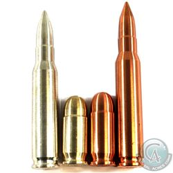 1oz & 2oz Fine Silver and Copper Bullets. You will receive 1 of each bullet in both metals. 4pcs (TA
