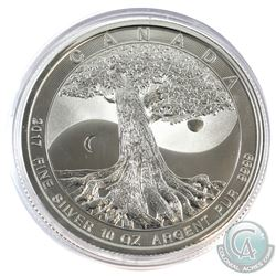 2017 Canada 10oz Tree of Life .9999 Fine Silver Coin (Capsule scratched). (TAX Exempt)
