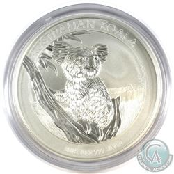 2015 Australia 10oz Koala .999 Fine Silver Coin (Capsule lightly scuffed). (TAX Exempt)