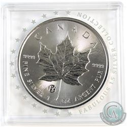 SCARCE 2018 Canada F15 Privy 1oz .9999 Fine Silver Maple Leaf in Original F15 Capsule. (TAX Exempt)