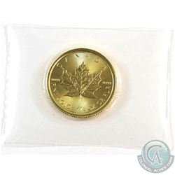 2017 Canada 1/4oz .9999 Fine Gold Maple Leaf in Sealed Plastic. (TAX Exempt)