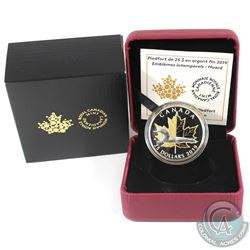 2019 Canada $25 Piedfort Timeless Icons - Loon Fine Silver Coin. (TAX Exempt)