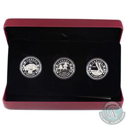 2013 Canada $20 Birth of the Royal Infant Fine Silver 3-Coin Set (Missing outer sleeve & capsules ar
