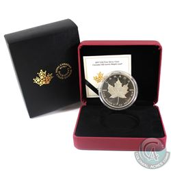 2017 $10 Canada 150 Iconic Maple Leaf 2oz Fine Silver Coin. (TAX Exempt)