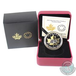 2017 Canada $25 Timeless Icons - Piedfort Gold Plated Fine Silver Coin. (TAX Exempt)