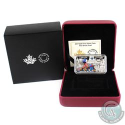 2017 Canada $25 The Great Trail Fine Silver Rectangular Coin. (TAX Exempt)