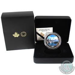 2019 Canada $30 Peter McKinnon Photo Series - Moraine Lake Fine Silver Coin. (TAX Exempt)