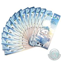 Lot of 14x 2006 Journey Series $5 Banknotes all Jenkins-Dodge Signatures. (10 notes UNC or better)