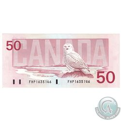 1988 $50 BC-59b Banknote Serial Number FHP1635146 UNC.