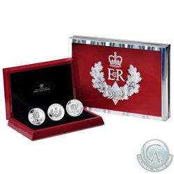 2012 Canada $20 Queen's Diamond Jubilee Fine Silver 3-Coin Set. (TAX Exempt)
