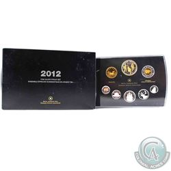 2012 Canada War of 1812 Fine Silver Deluxe Proof Set (Outer sleeve is worn). (TAX Exempt)