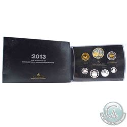 2013 Canada Arctic Expedition Fine Silver Double Dollar Proof Set (Outer sleeve is lightly worn). (T