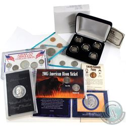 U.S. Mint & Commemorative Mint Issue: Estate Lot of USA Coins and Sets. You will receive American Ob