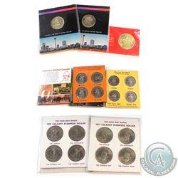 1974-1979 Alberta & Manitoba commemorative medallions:  1974 Calgary convention Centre official open