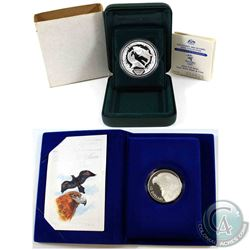 1994 Australia $10 Birds of Australia - Wedge-Tailed Eagle Sterling Silver & 2000 Sydney Olympics Gr