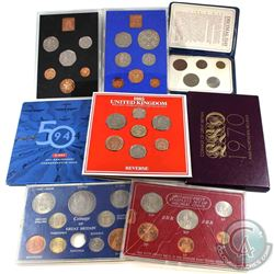 Mixed Lot of Various United Kingdom Coin Sets. You will receive 3x proof sets (1970, 1971 & 1977; 19