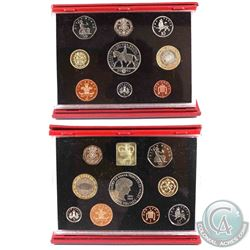 1999 & 2002 United Kingdom Deluxe Proof Sets (2002 is missing COA & outer sleeve). 2pcs