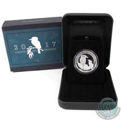 2017 Australia $1 High Relief Kookaburra 1oz Fine Silver Coin. (TAX Exempt)