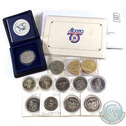 Estate lot of Miscellaneous Trade dollar tokens. Lot includes: 2x 1972 Alberta Barrhead trade dollar